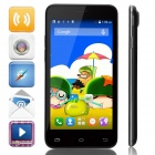 "Mpie MINI 809T MTK6582 Quad-Core Android 4.4.2 WCDMA Bar Phone w/ 4.5"", GPS - Black"