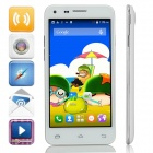 "Mpie MINI 809T MTK6582 Quad-Core Android 4.4.2 WCDMA Bar Phone w/ 4.5"", 4GB ROM, GPS - White"