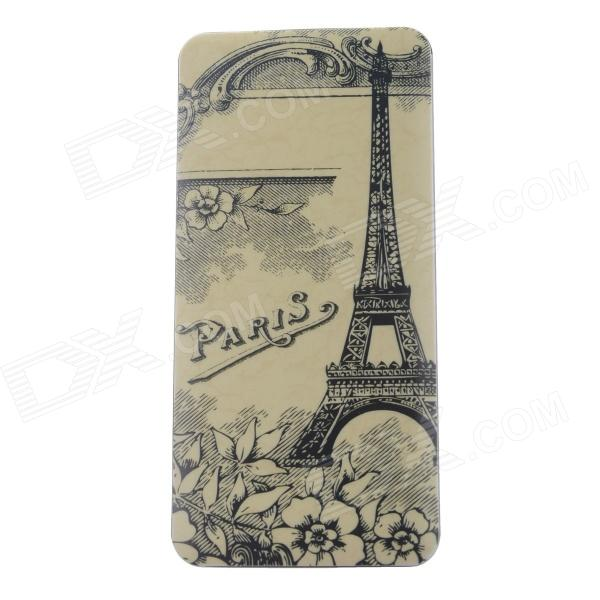 Eiffel Tower Pattern 13000mAh Dual USB Li-polymer Battery Power Bank - Yellow + Multi-Colored original romoss polymos 10 air 10000mah dual usb li polymer power bank