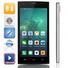 "DaKELE XKL01(DKL01) Quad-Core Android 4.2.2 WCDMA Bar Phone w/ 5.0"" HD, 16GB ROM - White + Black"