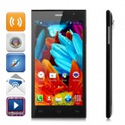 "JAKEE JK13 Dual-core Android 4.2 WCDMA Bar Phone w/ 5.0"" Screen, Wi-Fi and GPS - Black"