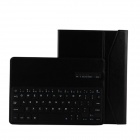 M-6113 Bluetooth V3.0 64-Key Keyboard w/ Protective PU Leather Case for IPAD AIR - Black