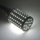 ZDM E27 15W 1450lm 7500K 98-2835 SMD LED Cool White Light Maize Lampa-Vit + Silver (AC 220V)