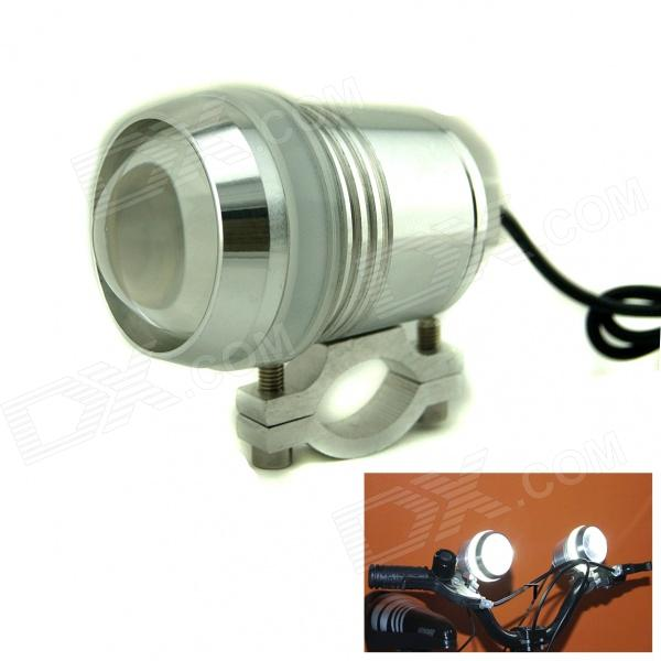 Marsing 30W 1500lm 7000K Waterproof 3-Mode White Motorcycle LED Light w/ Angel's Eye
