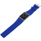 SKMEI Waterproof Heart-Shaped Silicone Band Digital LED Sports Wristwatch - Blue (1 x CR2016)