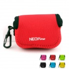 NEOpine Mini Protective Neoprene Camera Case Portable Bag for GoPro Hero 3+ / 3 / 2 / SJ4000 - Red
