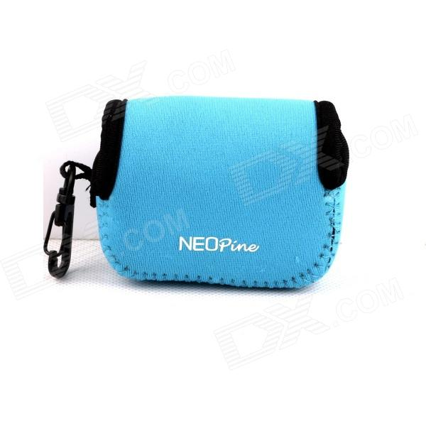 NEOpine Mini Protective Neoprene Camera Case Portable Bag for Gopro Hero 4/ 3+ / 3 / 2 / SJ4000 - Blue