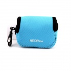 NEOpine Mini Protective Neoprene Camera Case Portable Bag for GoPro Hero 3+ / 3 / 2 / SJ4000 - Blue