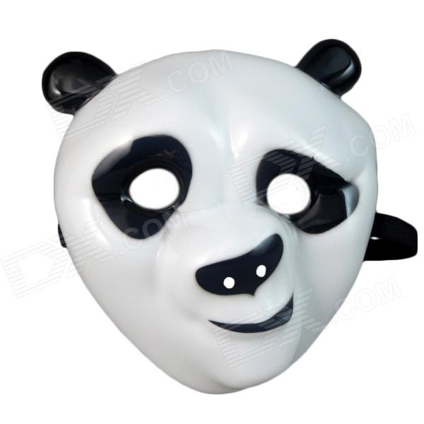 Children's Super Cute Nauty Panda Style Mask - White + Black