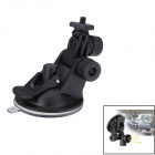 JUSTONE 52mm Car Suction Cup Mount Tripod Holder for DVR / DV / GPS / Camera / GoPro - Black