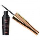 Cosmetic Makeup Waterproof Liquid Eyeliner - Golden + Black (6ml)