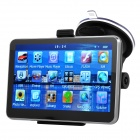 "5"" Resistive Screen Win CE 6.0 Car GPS Navigator w/ TF / FM / Mic. - Black (Multinational)"