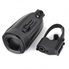 Hornit Portable Waterproof 2-Mode Cycling Bicycle Bike Electronic Bell - Black (2 x AAA)