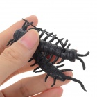 Practical Joke Plastic Centipede Shaped Toy - Brown + Multi-Colored (2 PCS)