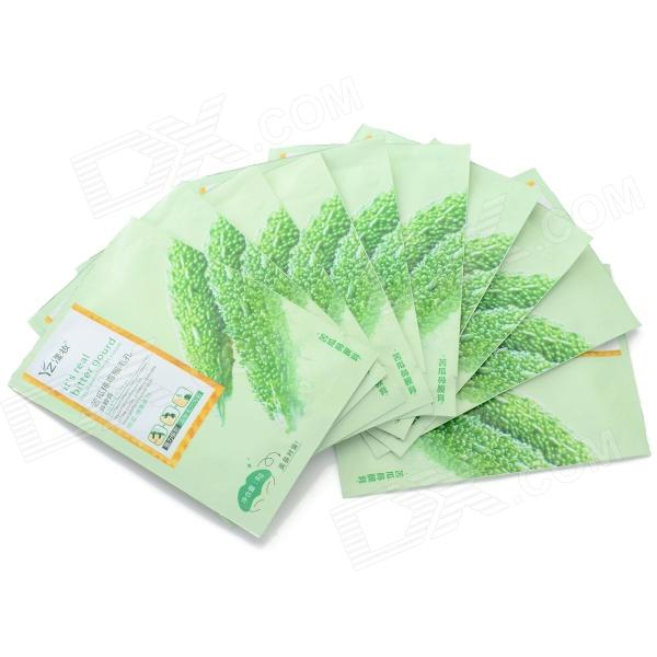 Blackhead Removal Conk Mask Cosmetology Nasal Membrane / Nose Pack - Green (10 PCS)