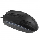DF-010 1200DPI USB Wired Optical Mouse Gaming Mouse - Black