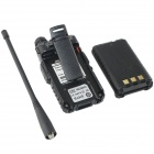 "Zastone ZT-V8A+  Dual Band Radio Walkie Talkie  w/ 1.5"" LCD - Black"