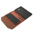 EPGATE-Wireless Bluetooth V3.0 Keyboard + Protective PU Leather Case for Samsung Galaxy T330 - Brown
