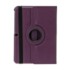 EPGATE-360 Degree Rotation Protective Case Cover Stand for Samsung Galaxy Tab4 T530 - Purple
