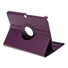 EPGATE rotation de 360 ​​° étui de protection reposer galaxie T530 - violet