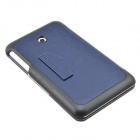 Protective PU Leather Case for Asus FE7010CG Pad - Dark Blue