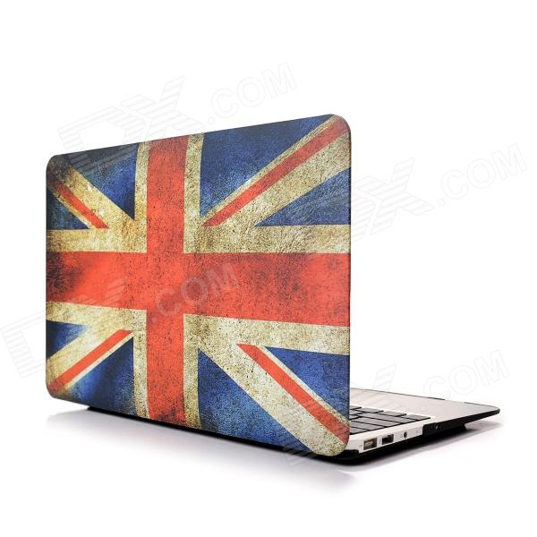 Hat-Prince UK Flag Pattern Protective Full Body Matte Case for MacBook Air 13.3