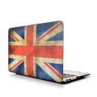"Hat-Prince UK Flag Pattern Protective Full Body Matte Case for MacBook Air 13.3"" - Red + Blue"