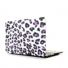 "Hat-Prince del estampado leopardo funda protectora de cuerpo completo Mate para el MacBook Air 13,3 ""- Multicolor"