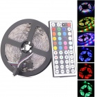 72W 300-SMD 5050 RGB LED Flexible Light Lamp Strip w/ 44-key Controller (12V / 5m)