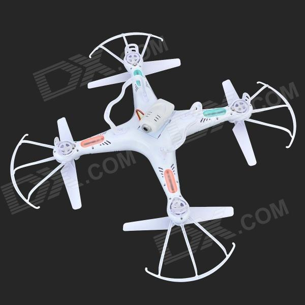 SYMA X5C 2.4GHz 4-CH R/C Quadcopter UFO w/ Gyro / 2.0MP Camera - White