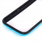 Protective TPU + PC Bumper Frame for Moto G Phone - Blue + Black