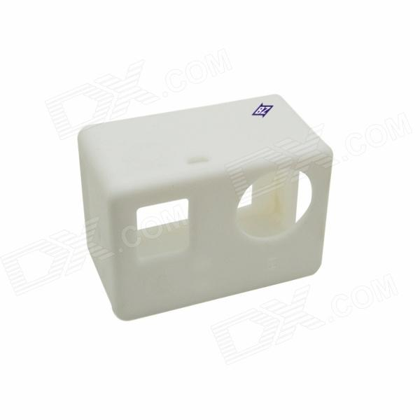 BZ BZ131 Protective Silicone Case for GoPro Hero 3+ / 3 - White
