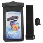 P92 Waterproof PVS + ABS Bag for Samsung Galaxy S3 / S4 - Black