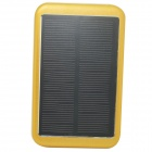 ODEM L-8000T ''8000mAh'' Li-polymer Battery Solar Power Bank w/ Indicator for IPHONE / IPOD - Golden