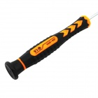 JM-8119 Durable 1.5 Five-Pointed Pentalobe Screwdriver Opening Tool for IPHONE - Black + Orange