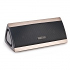 MOCREO MOSOUND BASS Portable Wireless Bluetooth Stereo Speaker w/ 3D Surround Sound - Golden