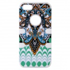 Aztec Indians Maya Tribe Pattern Retro Protective Silicone Back Case for IPHONE 5 / 5S -Multicolored