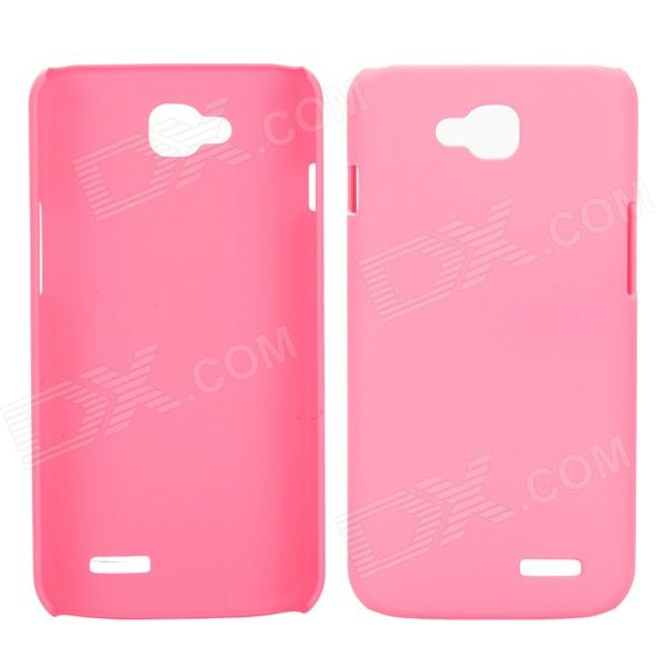 все цены на EPGATE A00487 Protective Plastic Back Case for LG Optimus L90 D410 D405 - Pink онлайн