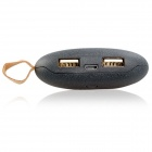 "Totoro Shaped Universal ""9000mAh"" USB Li-ion Battery Power Bank for IPHONE and Samsung - Black"