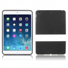 ENKAY Protective TPU Back Case w/ Holder for IPAD Mini / Mini 2 - Black