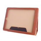 9.7 Inch Solid Color PU Tablet Case w/ Stand for ONDA V975 / V975S / V975m Tablet PC - Brown