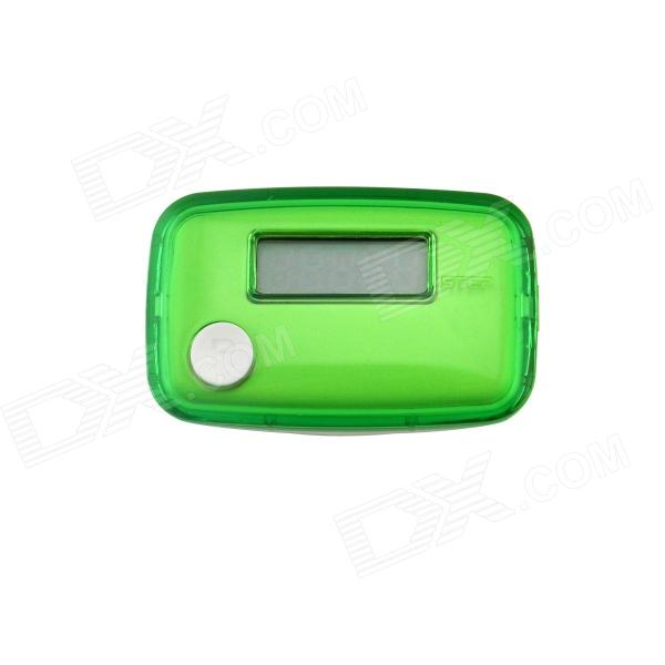 "0.8"" LCD Pedometer - Grass Green + White (1 x AG10)"