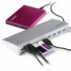 ORICO H73 7-Port Aluminum Alloy High Speed USB 3.0 HUB for Mac PC Laptop - Silver
