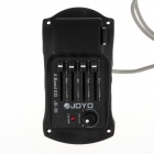 JOYO JE-36 Guitar 4-Band EQ Tuner Pickup Equalizer - Black