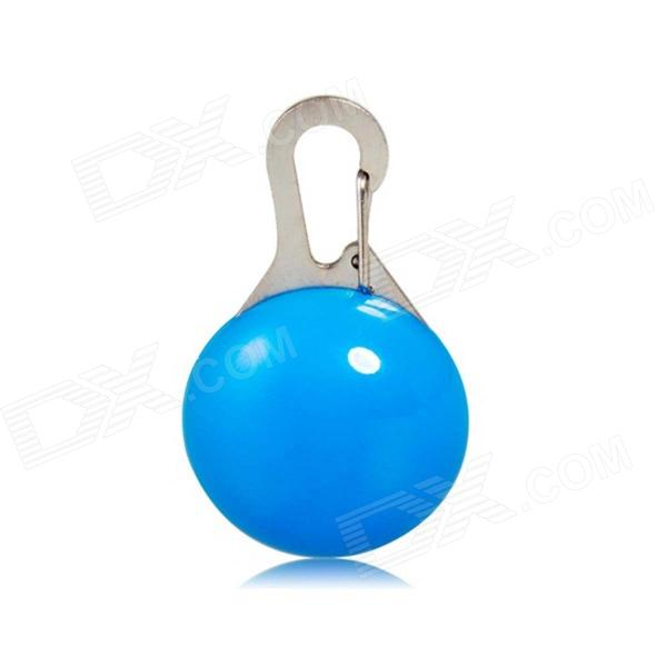 LED Blue Light Clip-on Safety Lamp for Pet Dog - Blue (1 x CR2032)