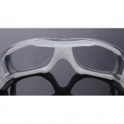 Reedoon DE493 Outdoor Sports UV400 Protection Resin Frame PC Lens Goggles-Musta + Valkoinen