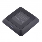 QI caricabatterie Wireless Mini Pad w / caricabatterie Wireless Receiver per Samsung Galaxy nota 3 N9006 - nero