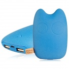 "Totoro Shaped Universal ""9000mAh"" USB Li-ion Battery Power Bank for IPHONE and Samsung - Blue"