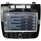 "LsqSTAR 8"" UI Car DVD Player w/ GPS, ATV, RDS, OPS, IPAS, SWC, CanBus, OBD for VW Touareg 2013"