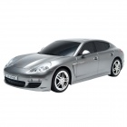 Dongxin DX131436CH 1:14 Charging Speed Drift Porsche Car Model w/ Remote Control - Silver + Black
